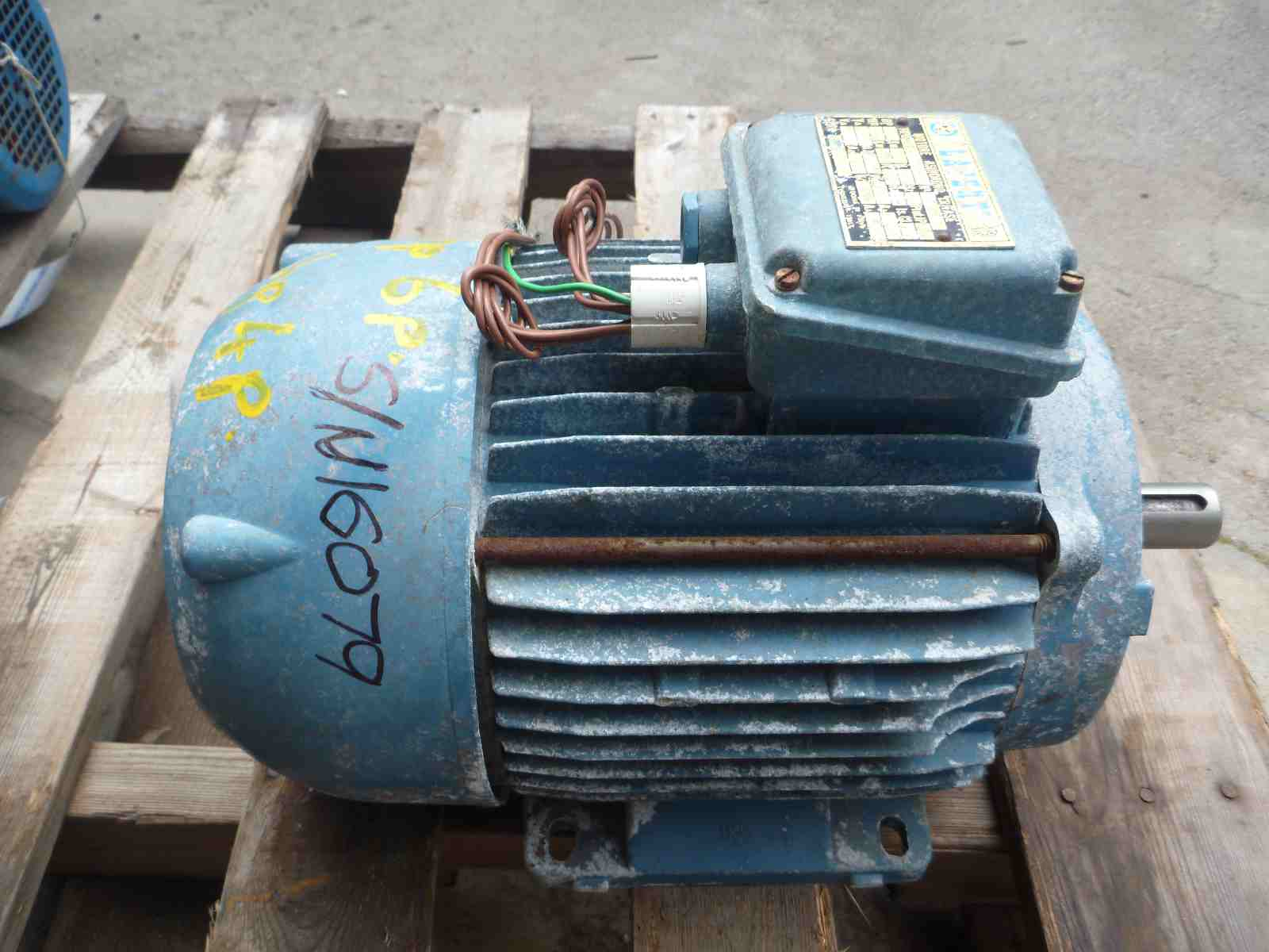 LAFERT 3HP 3 PHASE ELECTRIC MOTOR | Bills Machinery.