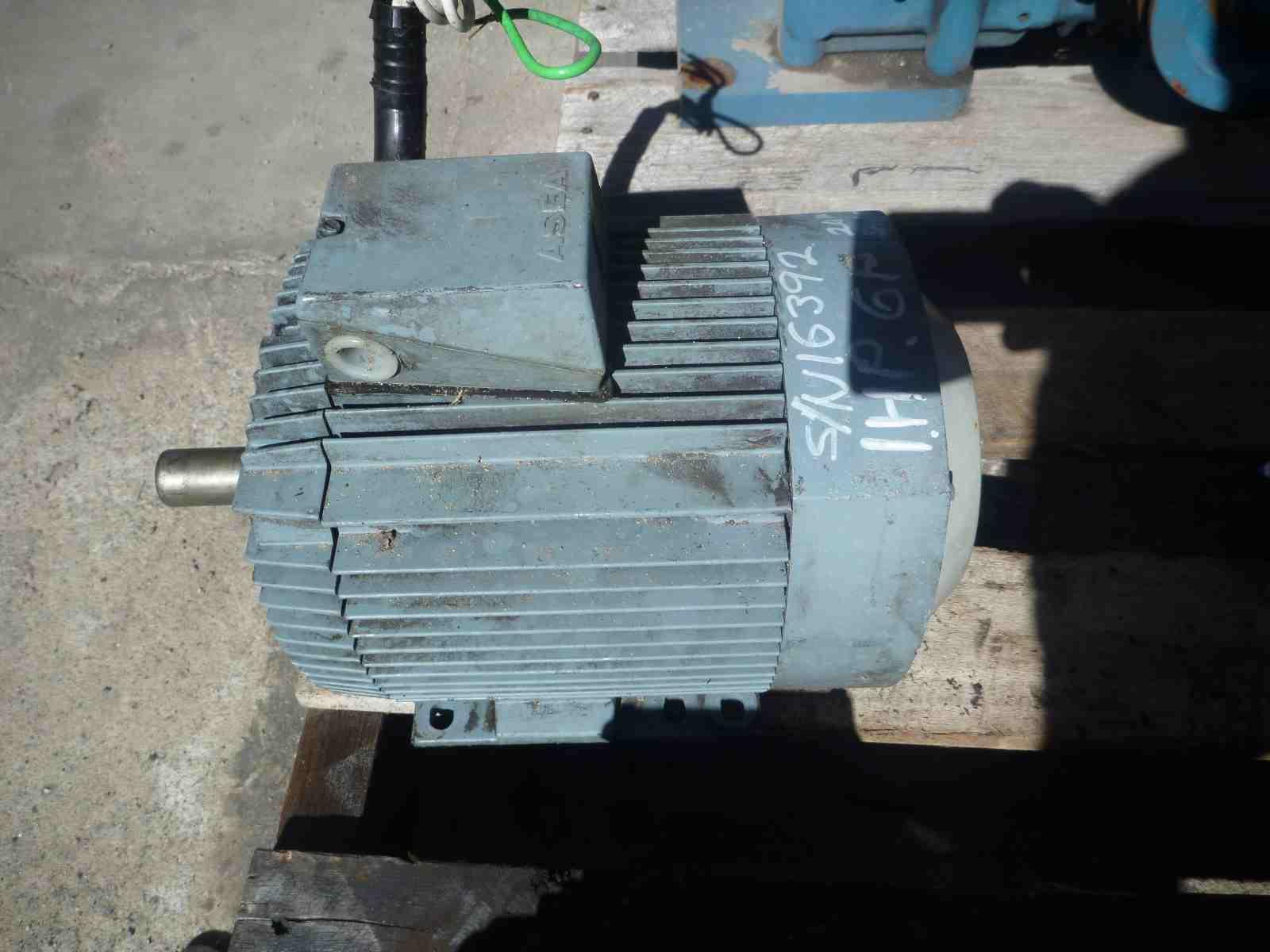 ASEA 1HP 3 PHASE ELECTRIC MOTOR   Bills Machinery.