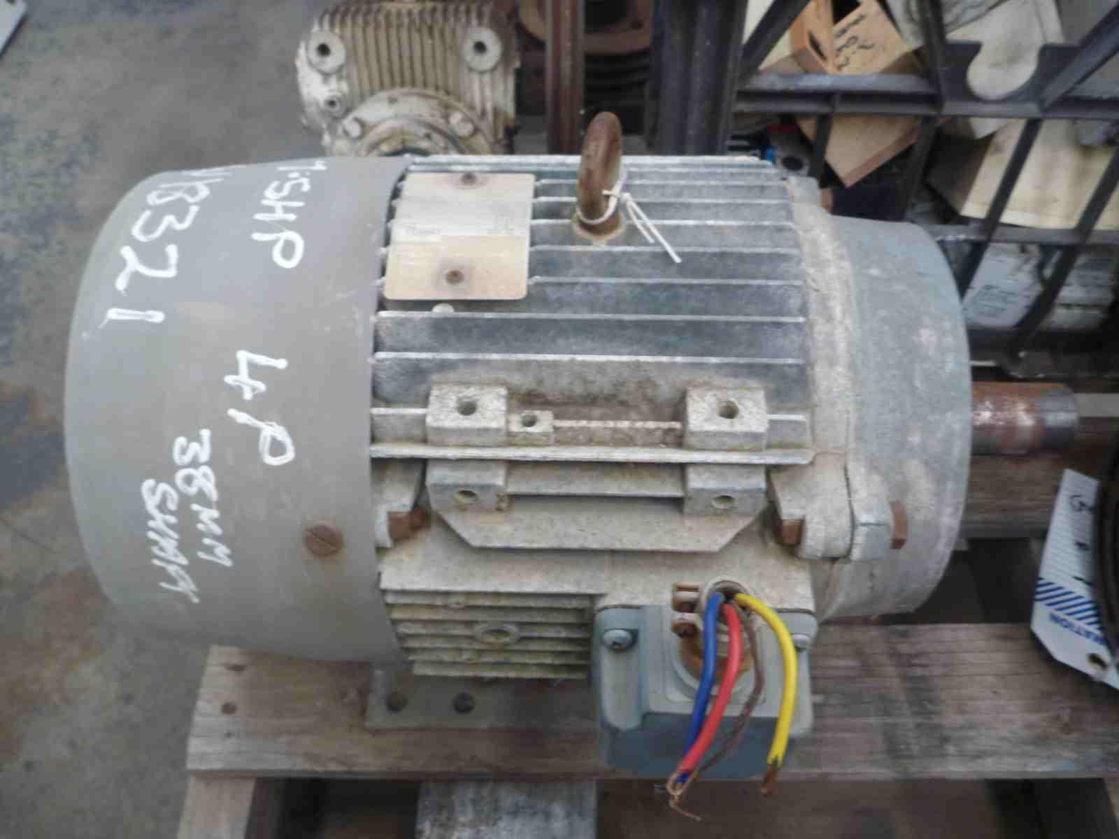 Brook Crompton 75hp 3 Phase Electric Motor Bills Machinery Electrical Wiring Photo Of
