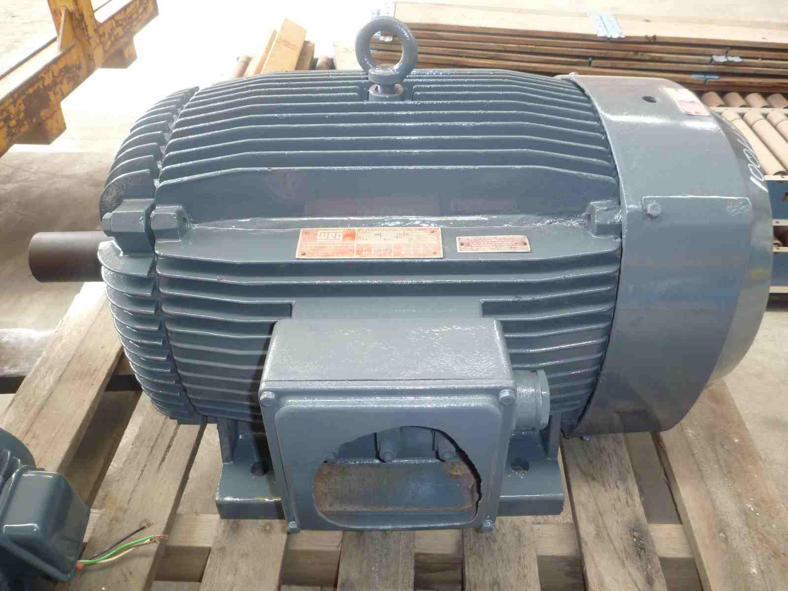 WEG 100HP 3 PHASE ELECTRIC MOTOR | Bills Machinery.