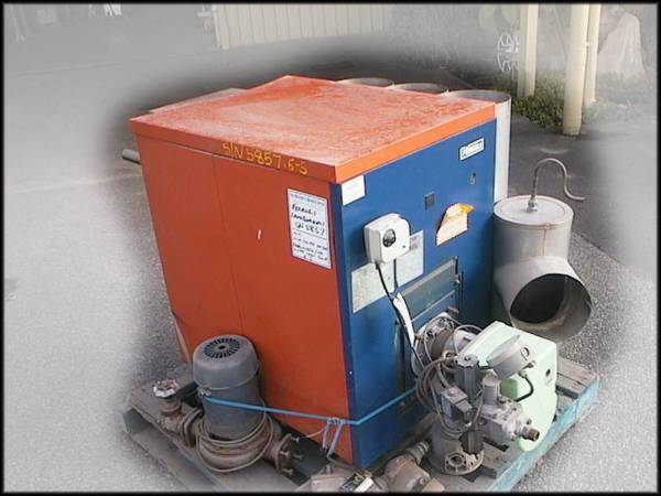 Photo of FERROLI NATURAL GAS HOT WATER BOILER