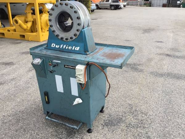 Photo of 50TON DUFFIELD HYDRAULIC CRIMPING MACHINE