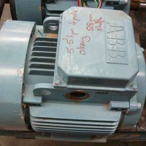 Photo of AAB 5.5HP 3 PHASE ELECTRIC MOTOR