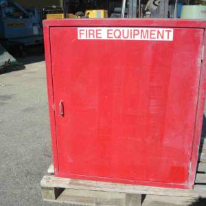 Photo of FIRE HOSE REEL & CABINET