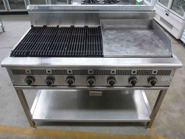 Photo of CHAR GRILL GRIDDLE COMBINATION