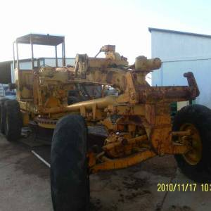Photo of ALLIS CHARMERS ROAD GRADER