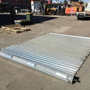 Photo of ANVIL METALS GALVANISED ELECTRIC ROLLER SHUTTER