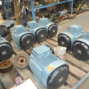 Photo of ASEA 10HP 3 PHASE ELECTRIC MOTOR