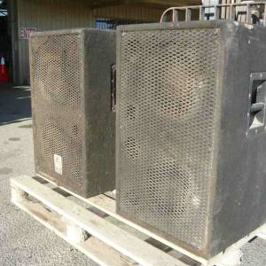 Photo of MSR LARGE NIGHT CLUB SPEAKERS