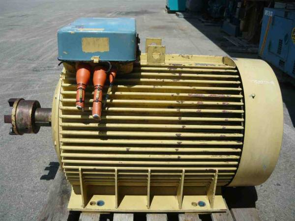 Photo of ABB 175HP 3 PHASE ELECTRIC MOTOR