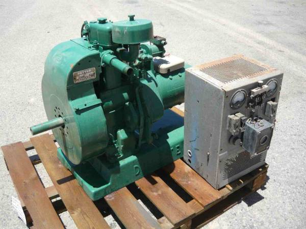 Photo of 48VOLT DC DIESEL GENERATOR SET