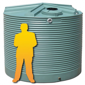 Photo of COERCO 9000 LITRE RAIN WATER TANK