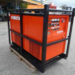 Photo of KUBOTA 12.5KVA DIESEL GENERATOR SET