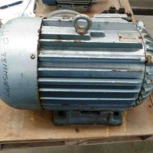 Photo of ATKINS 10HP 3 PHASE ELECTRIC MOTOR