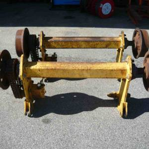 Photo of HYDRAULIC DRIVEN RAIL WHEELS