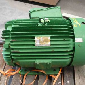 Photo of TOSHIBA 75HP 3 PHASE ELECTRIC MOTOR