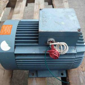 Photo of ASEA 4HP 3 PHASE ELECTRIC MOTOR