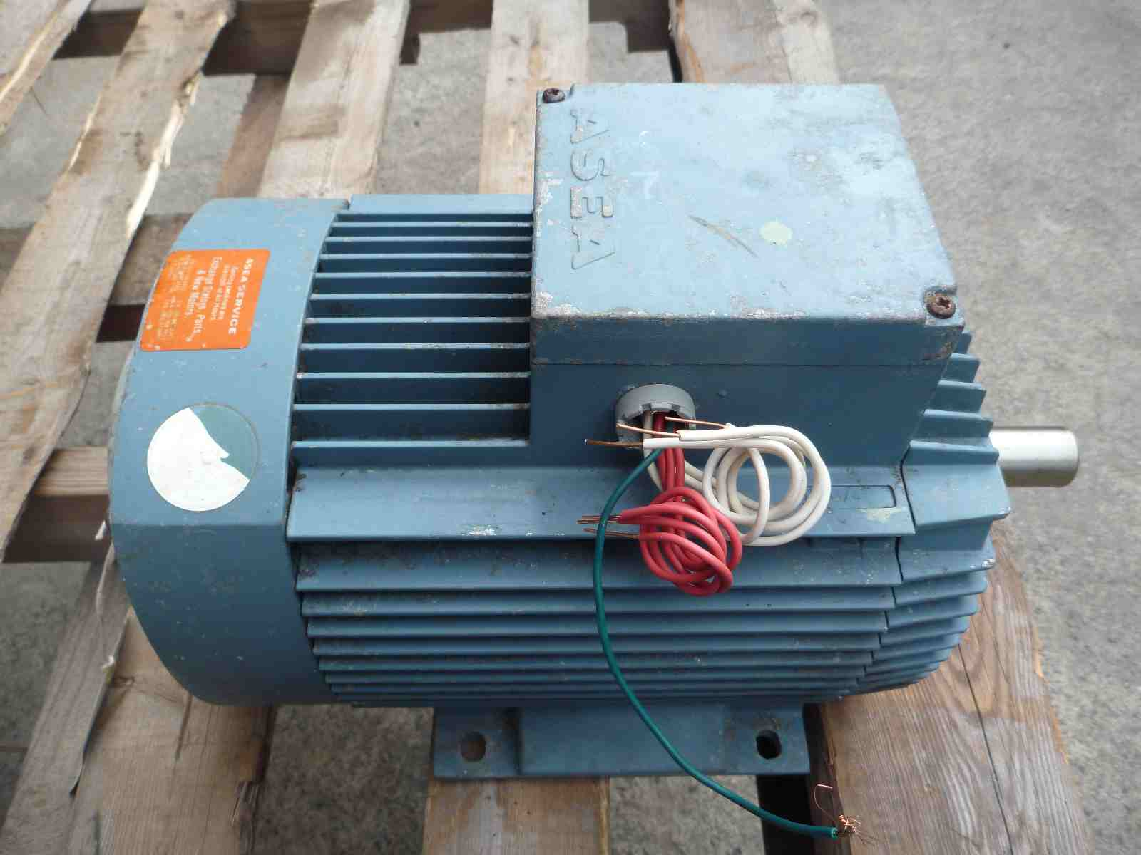 ASEA 4HP 3 PHASE ELECTRIC MOTOR | Bills Machinery.