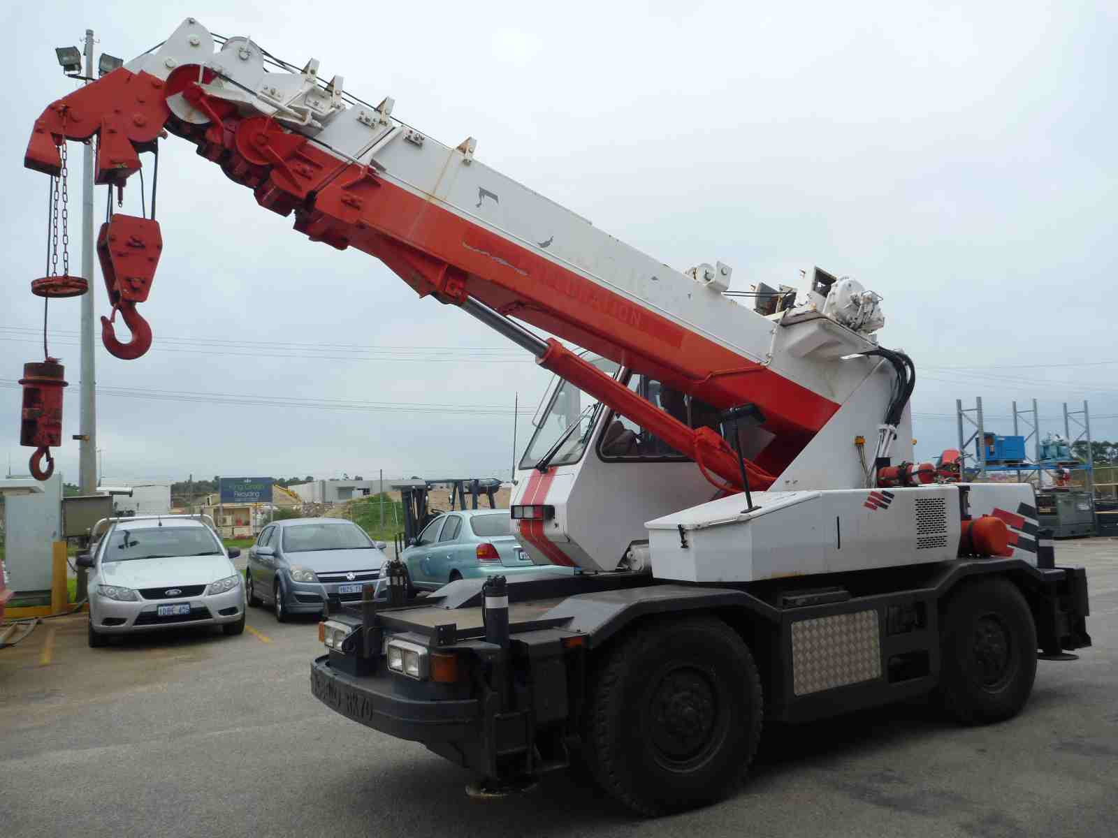 Photo of KOBELCO 7 TON ROUGH TERRAIN CRANE