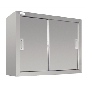 Photo of 160L STAINLESS STEEL WALL CUPBOARD