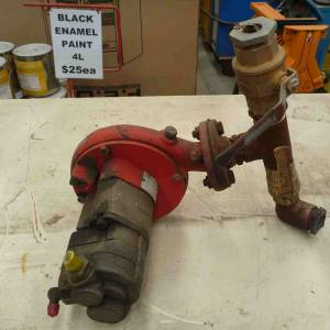 Photo of HYDRAULIC DRIVEN PUMP