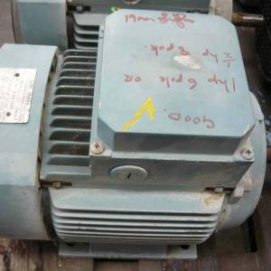 Photo of ABB 1HP 3 PHASE ELECTRIC MOTOR