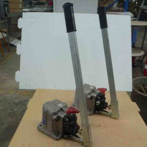 Photo of OMFB FULCO DOUBLE ACTING HAND HYDRAULIC PUMP