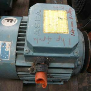 Photo of ASEA 1HP 3 PHASE ELECTRIC MOTOR