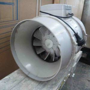 Photo of BLAUBERG 250MM DIAM ELECTRIC EXTRACTION FAN