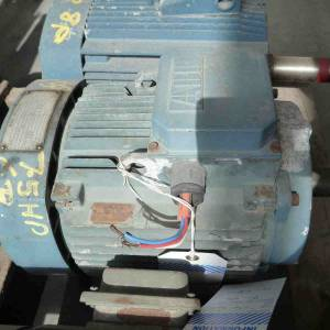 Photo of ABB 7.5HP 3 PHASE ELECTRIC MOTOR