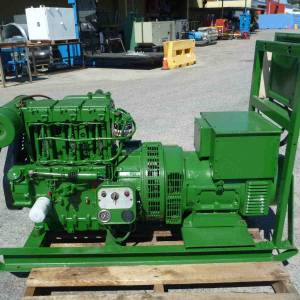 Photo of LISTER 17KVA DIESEL GENERATOR SET