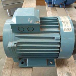 Photo of ABB 2HP 3 PHASE ELECTRIC MOTOR