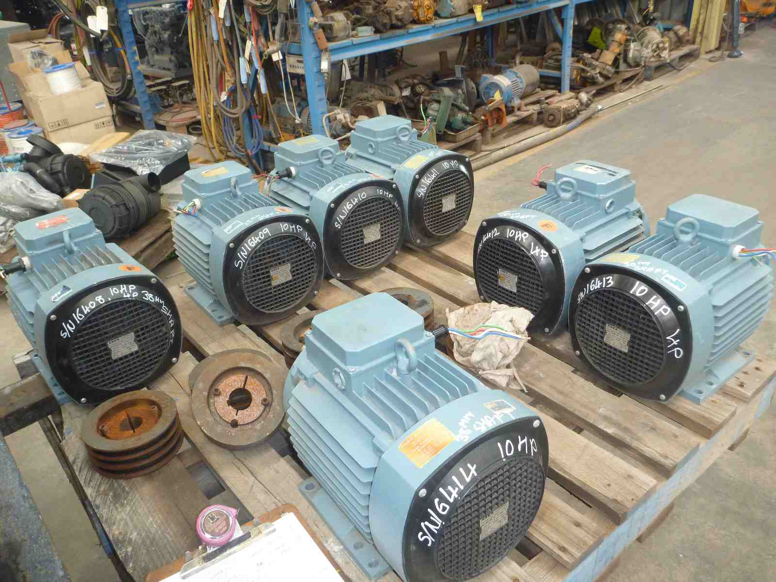 ASEA 10HP 3 PHASE ELECTRIC MOTOR | Bills Machinery.