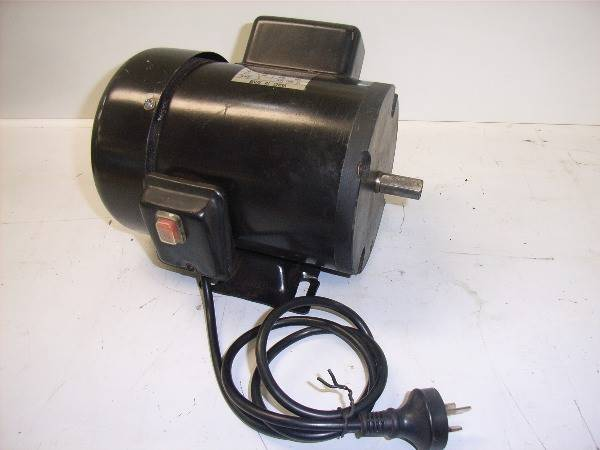 Photo of BMAC 1HP CEMENT MIXER ELECTRIC MOTOR