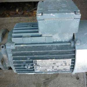 Photo of SEW 3/4HP 3 PHASE ELECTRIC MOTOR