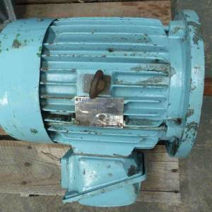 Photo of TECO 7.5HP 3 PHASE ELECTRIC MOTOR