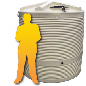 Photo of COERCO 5000 LITRE RAIN WATER TANK