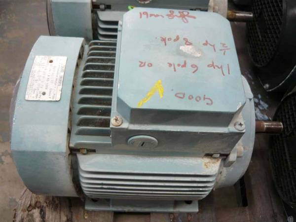 Photo of AAB 1HP 3 PHASE ELECTRIC MOTOR