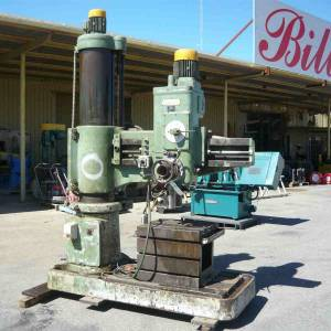 Photo of HUNT RADIAL ARM FLOOR MOUNT PEDESTAL DRILL