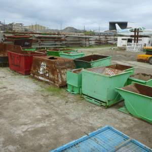 Photo of STEEL SCRAP BINS