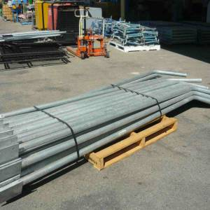 Photo of HEAVY DUTY GALVANISED STEEL FENCE POSTS