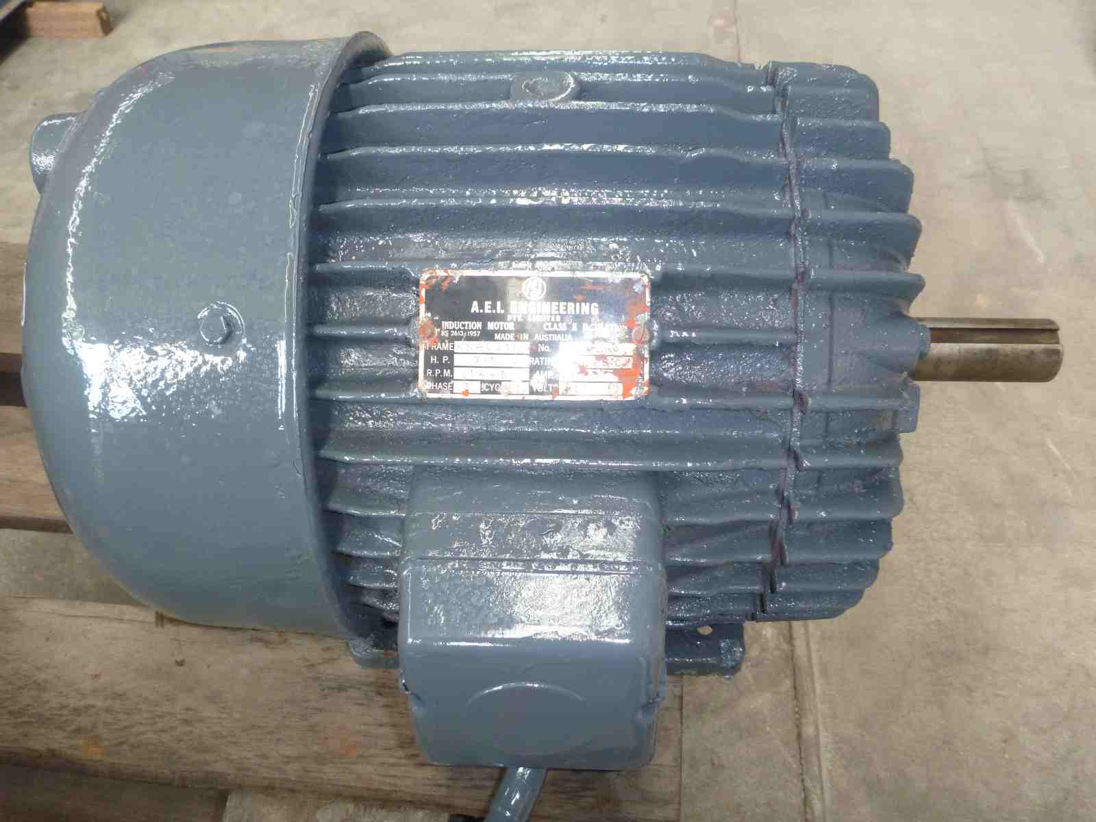 Aie 75hp 3 Phase Electric Motor Bills Machinery Three Electrical Wiring Photo Of