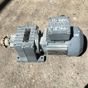 Photo of SEW EURODRIVE ELECTRIC REDUCTION MOTOR 10RPM