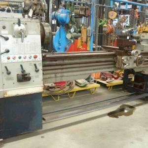 Photo of TURRET PHL 2180G ENGINEERING LATHE 2M BC 800MM SWING