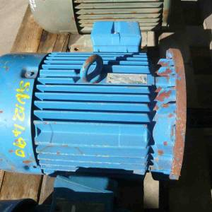 Photo of WESTERN ELECTRIC 5.5HP 3 PHASE ELECTRIC MOTOR
