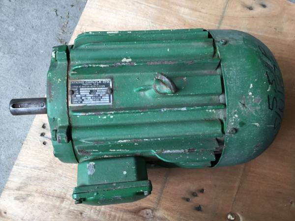Photo of 5.5HP 2890RPM 3 PHASE