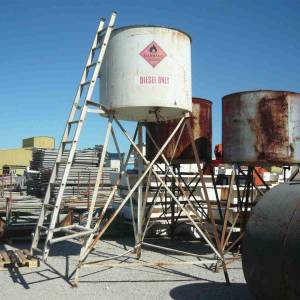 Photo of FUEL STORAGE TANK