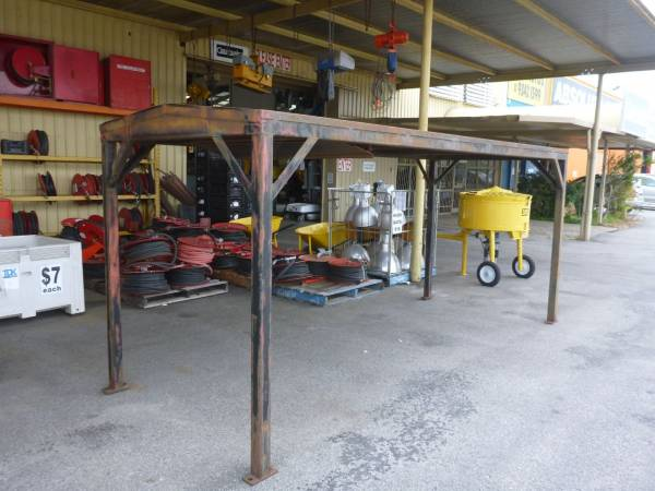 Photo of HEAVY DUTY STEEL CANOPY 4.1M