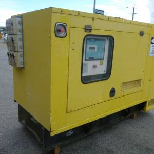 Photo of F G WILSON ENCLOSED 44KVA GENERATOR SET