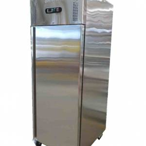 Photo of BROMIC 650 LITRE STAINLESS STEEL UPRIGHT FREEZER